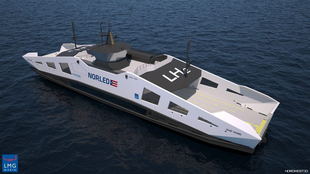 Norled and Westcon Constructing Environmentally Friendly Ferries